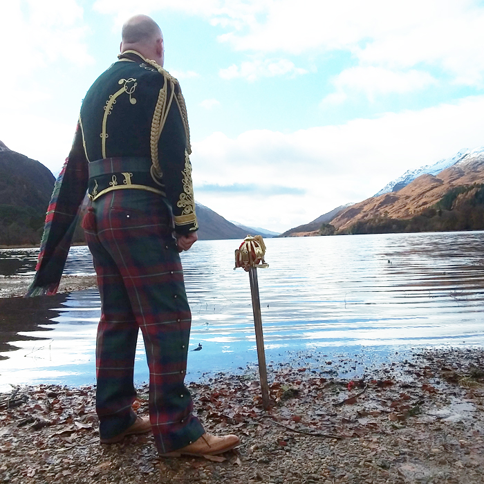 Jacobite Tours 1745 Jacobite Commander's Tour at Loch Shiel