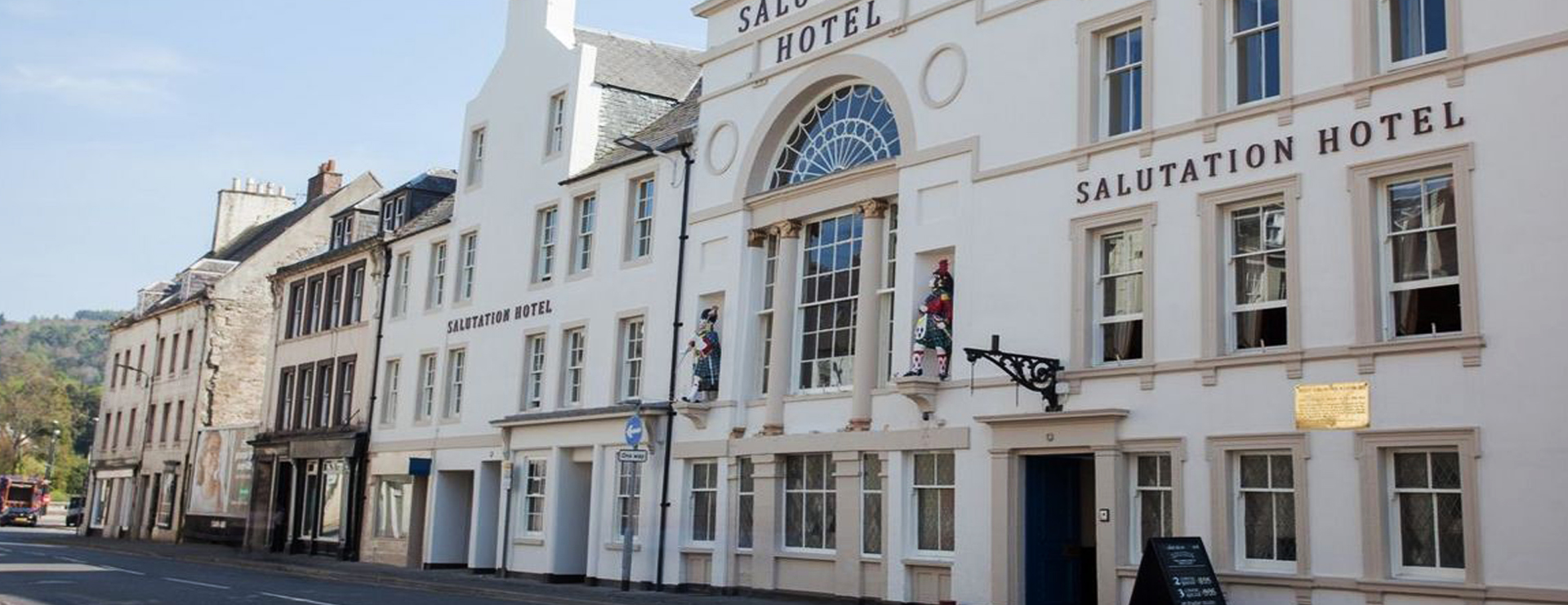 Jacobite Tours Salutation Hotel Perth