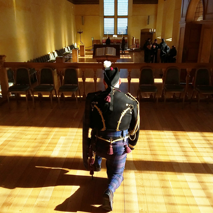 The Alba Hussar visits Stirling Castle. Come join our camapaign